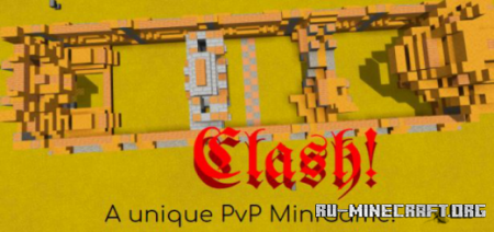 Скачать Clash! (Multiplayer PvP Minigame) для Minecraft PE