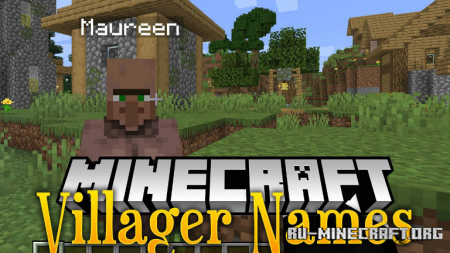 Скачать Villager Names для Minecraft 1.16.1
