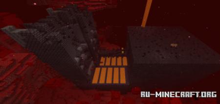 Скачать Unexplored Bastion Remnant для Minecraft PE