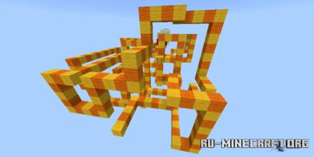 Скачать Obstacle Course YK для Minecraft PE