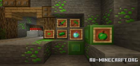 Скачать Green Paladium для Minecraft PE 1.16