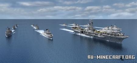 Скачать Clemenceau - Class Aircraft Carrier для Minecraft