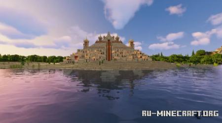 Скачать Sand Temple by BuildWarrior для Minecraft