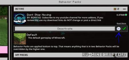 Скачать Dont Stop Moving для Minecraft PE 1.16