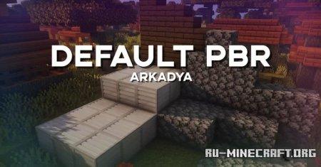 Скачать Default PBR [16x] для Minecraft 1.15