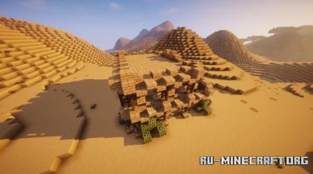 Скачать Medieval Desert House by TripleMotions для Minecraft