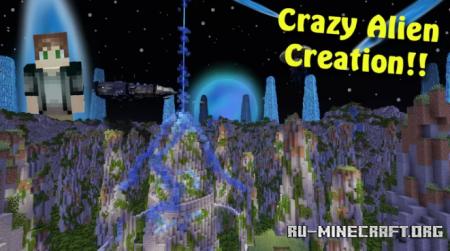 Скачать Insane Alien World для Minecraft
