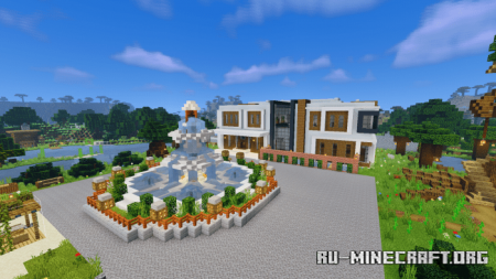 Скачать Special Modern House (Summer Update) для Minecraft PE