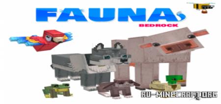 Скачать Fauna Bedrock для Minecraft PE 1.14
