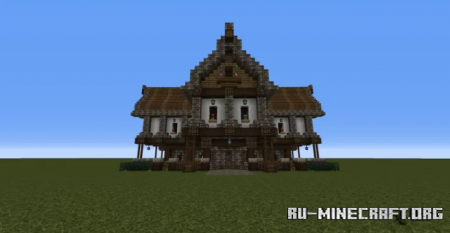 Скачать Medieval Enchantment House для Minecraft