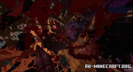 Скачать The Luminescent Nether для Minecraft