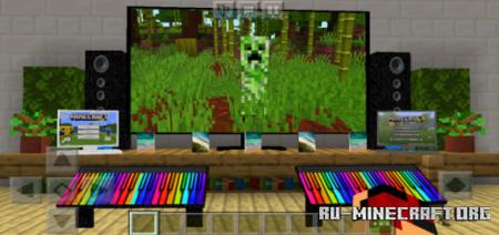 Скачать Electronic Furniture для Minecraft PE 1.16