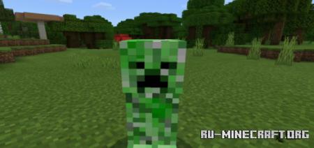 Скачать Blinking Mobs для Minecraft PE 1.16