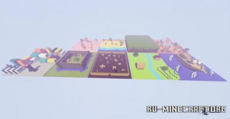 Скачать The Floor is Lava 3.0 для Minecraft