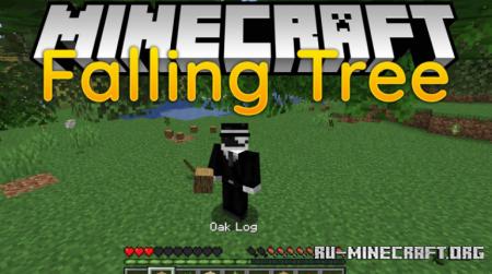Скачать Falling Tree для Minecraft 1.16.1