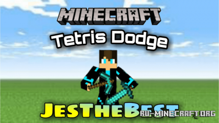 Скачать Tetris Dodge By JesTheBest для Minecraft PE