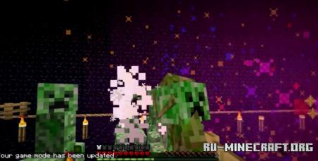 Скачать Creeper Confetti для Minecraft 1.16.1