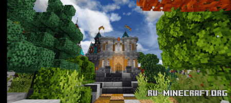 Скачать Fantasy Village and Castle для Minecraft PE