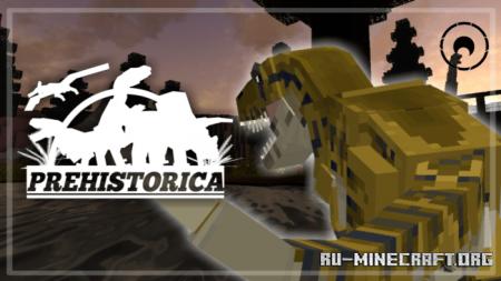 Скачать Prehistorica для Minecraft PE 1.16