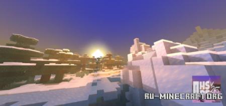 Скачать Enchanted HSPE Shaders для Minecraft PE 1.16