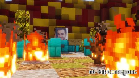 Скачать Unfair Sparklez для Minecraft
