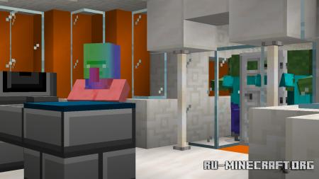 Скачать Rainbow Escape by Nico_The_Pro для Minecraft
