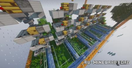 Скачать Bee Farm by LePoffyTM для Minecraft
