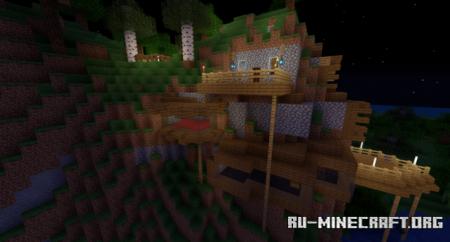 Скачать Mountain Home by Zazzy109 для Minecraft
