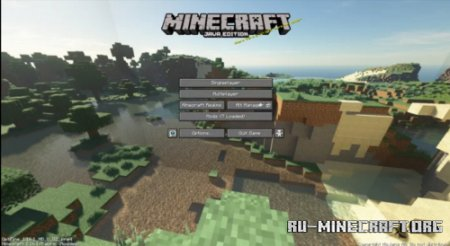Скачать Default Panorama with Shaders для Minecraft 1.16