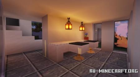 Скачать Hillside Modern Villa для Minecraft