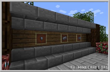 Скачать Basic Nether Ores для Minecraft 1.16.1