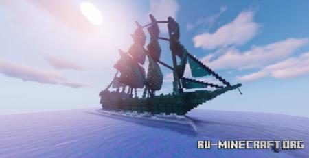 Скачать Ghost Boat by AbsenceV для Minecraft