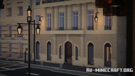 Скачать 4 Rue de Marignan - Paris, France для Minecraft