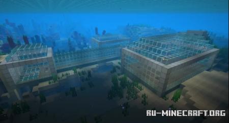 Скачать Ocean Base by Red_Adryan25 для Minecraft