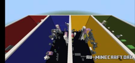 Скачать RGBY Parkour 3 для Minecraft PE