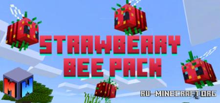 Скачать Strawberry Bee для Minecraft PE 1.16