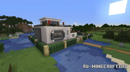 Скачать Modern House v5.1 для Minecraft