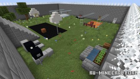 Скачать Escape The Prison by JoshPiggie для Minecraft PE