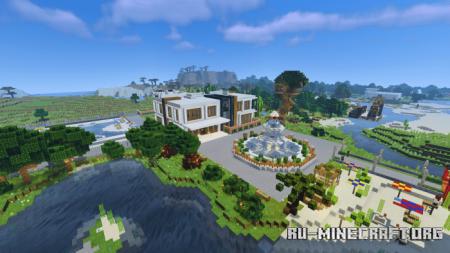 Скачать Special Modern House (FINAL Update) для Minecraft PE