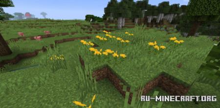 Скачать Woods and Mires для Minecraft 1.16.1