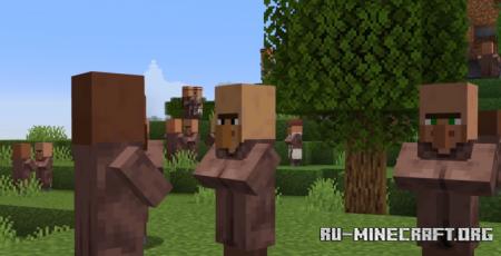 Скачать Raced Villagers для Minecraft 1.14