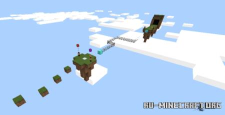 Скачать Husana909's Parkour Nubbo для Minecraft PE