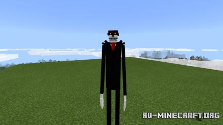 Скачать The Unknown Figure для Minecraft PE 1.16