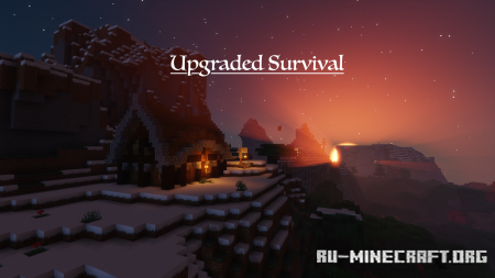Скачать Upgraded Survival для Minecraft