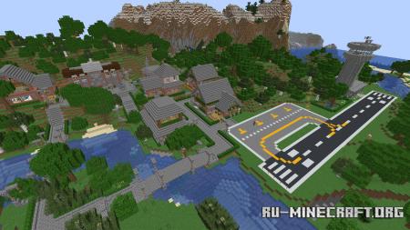 Скачать Beyond 256: Flight Simulator для Minecraft