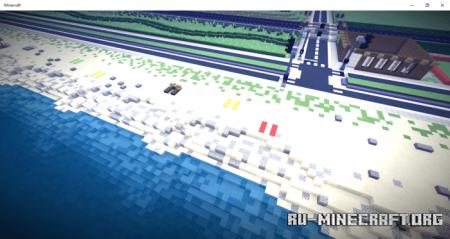 Скачать Civil City Eleonor для Minecraft PE
