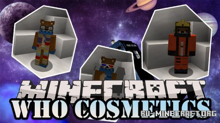 Скачать Who Cosmetics для Minecraft 1.14.4