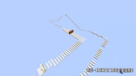 Скачать Sky Parkour Quartz для Minecraft