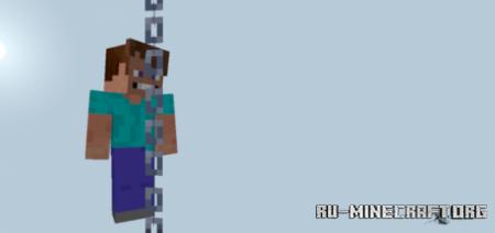 Скачать Climbable Chains для Minecraft PE 1.16