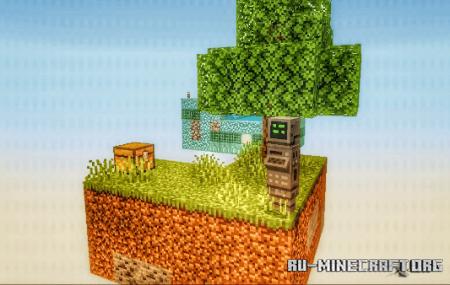 Скачать BiomeBlock: Skyblock Survival для Minecraft PE